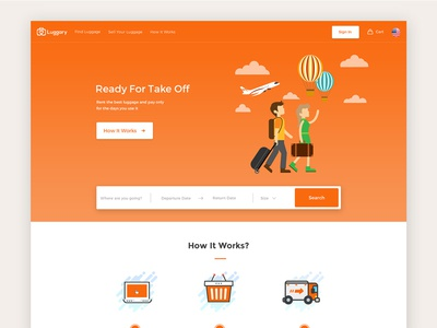 Luggary Homepage