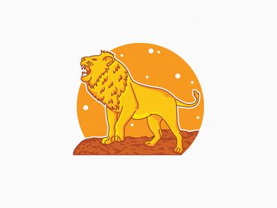 lion line style