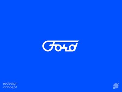 Ford logo логотип лого script font script font logo geometric ford redesign concept redesign concept colorful branding typography logo creative blackorbitart vector graphics graphics design