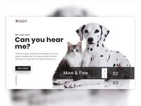 Pets Store Header Exploration