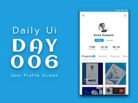 Daily Ui Challenge 006 - User Profile