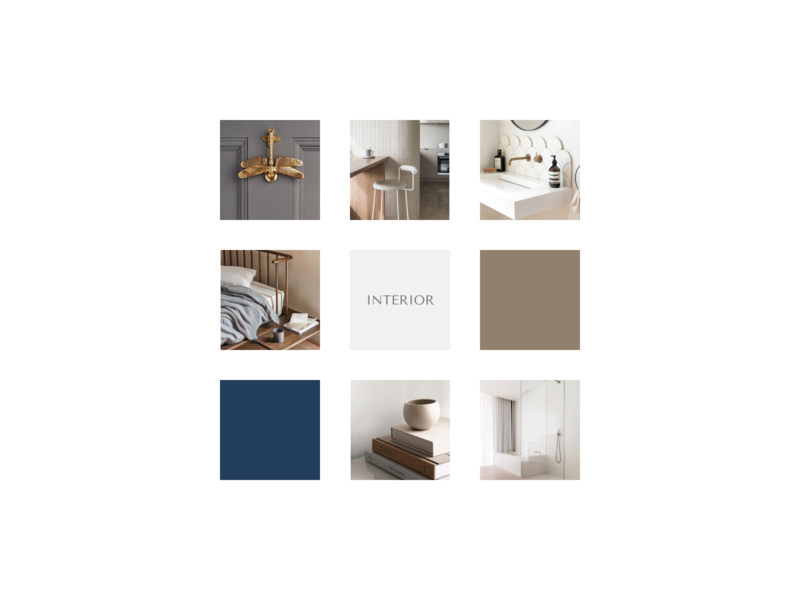 Design instagram for interior designer elegant interiors branding consept clean typography design minimal instagram template instagram post instagram interior design interior
