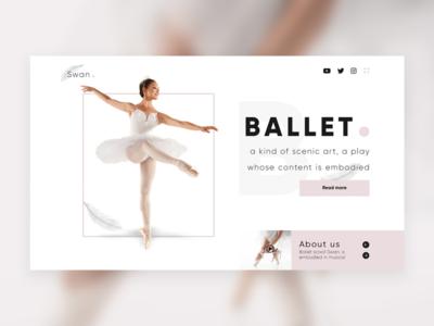 Concept for Ballet school