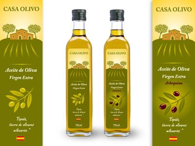 Casa Olivo Labels