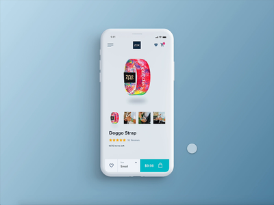 ZOX - Mobile version. Product Page Animation website ecommerce design ecommerce animation app web mobile ux ui design