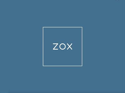 ZOX - logo animation design animation branding logo app mobile ux ui