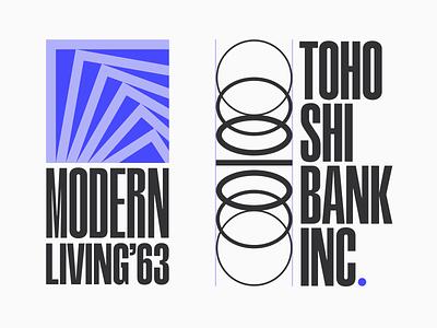 Logotypes cover design storefront design typography lettering brand geometry magazine cover modern bank brand identity brand design branding logo logodesign logotype