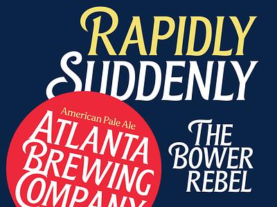 Blunch beer vintage typespire handlettering packaging design brand creative branding brewing lettering typography
