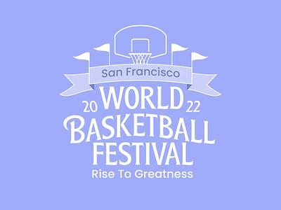 Illustration / crest crest branding sports logo sports design san francisco basketball logo basketball