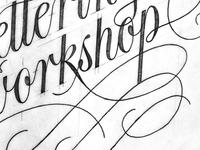 Freehand Lettering Workshop