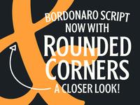 Bordonaro Spur Rounded