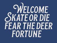 New font