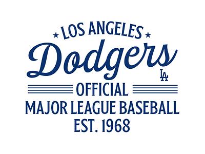 Dodgers ft Bordonaro creative illustration script typography lettering dodgers branding sports design sports branding sportswear mlb basketball