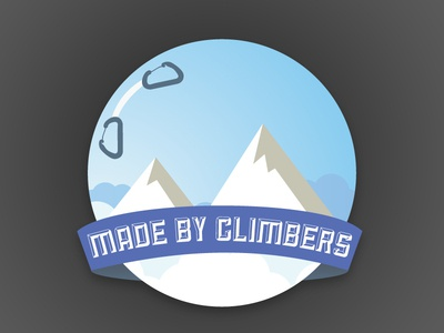 Made By Climbers Badge