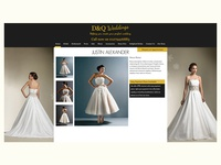 Wedding dress retailer Website