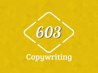 603 Copywriting Logo
