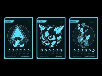 winter pokemon cards