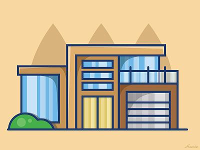 House house outline graphic design art vector illustration digital art