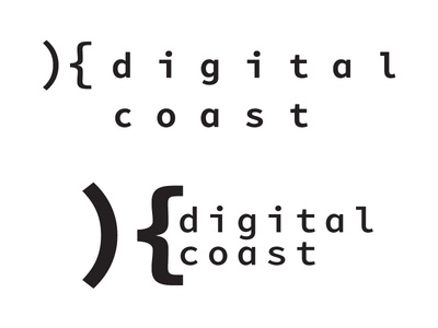Digital Coast logo concept
