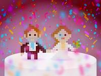 Ladies and Gentlemen… the Bride and Groom