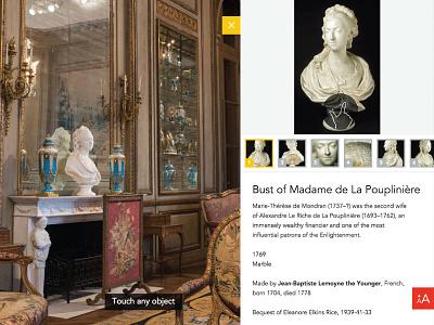 Widener Rice Room - Philadelphia Museum of Art details interface panorama interactive