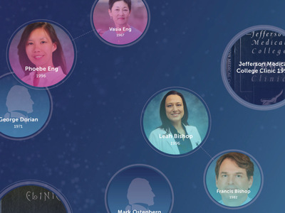 Digital Donor Legacy Wall Concept legacy concept interactive bubbles digital