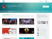 Ev - Profile Page