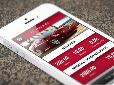 Nissan Rewards Program App & Website