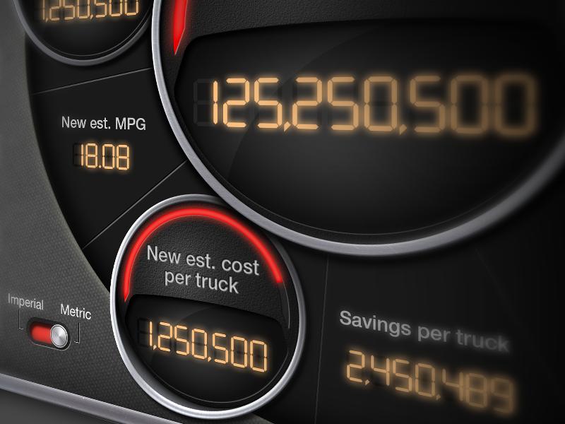 Fuel Savings Calculator By Ryan Forquer On Dribbble