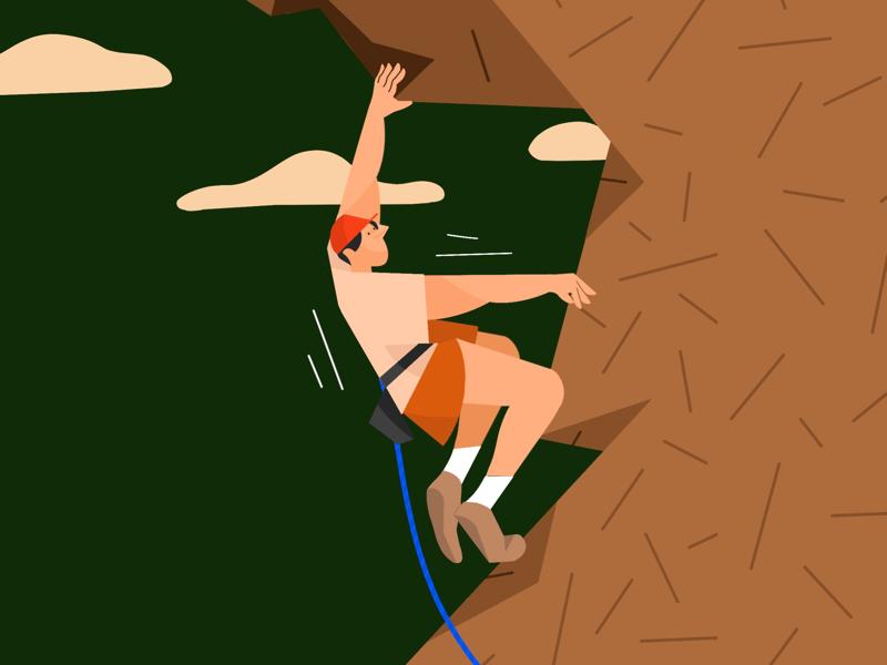 Man who climbed mountain with ropes mountain climbed rope man