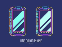 Line Color Phone