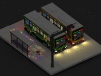 Saigon Bus and Hanoi Bus