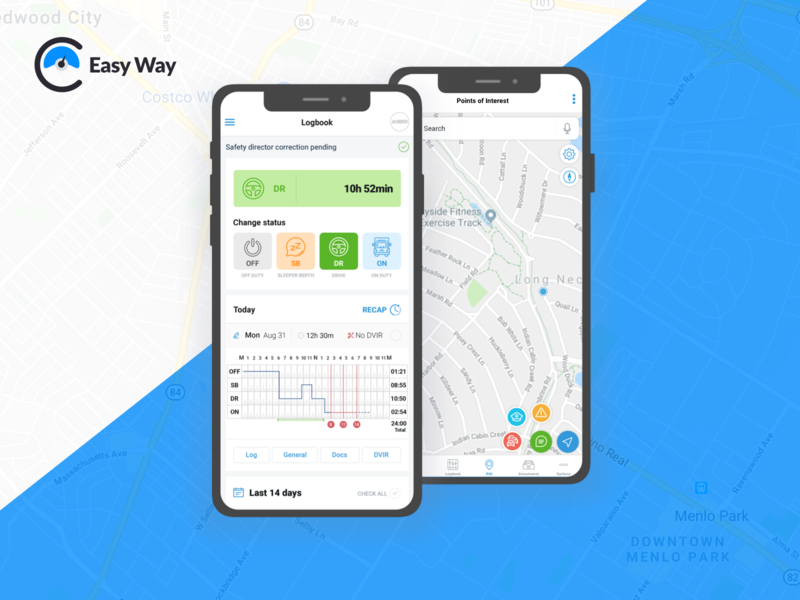 Easy Way • Dashboard & Navigation