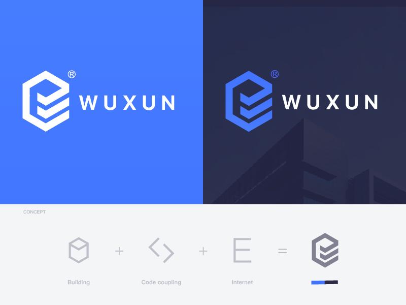 Building font simple internet e logo app ios