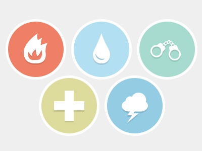 Home Insurance Infographic icons infographic flat