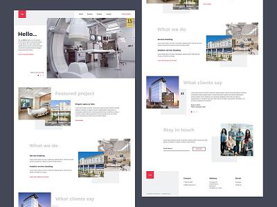 Homepage clean homepage