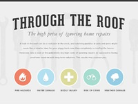 Through the roof infographic