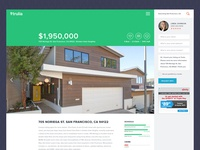 Trulia Listing Page Redesign