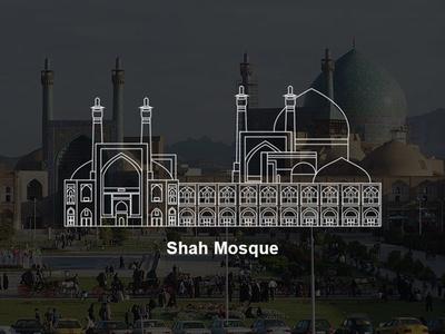 Shah Mosque Vector iran vector iran esfahan vector isfahan vector esfahan isfahan vector shah mosque shah mosque vector
