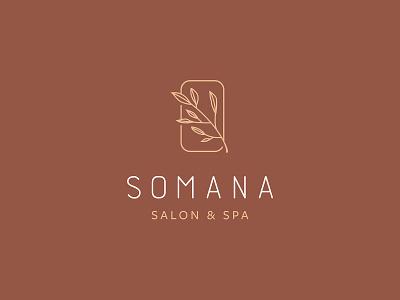 Somana Salon & Spa wellness healing brand beauty spa salon