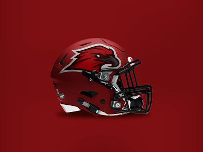 Goshen Redhawks sports nfl mascot branding design design vector indiana goshen illustration branding brand logo