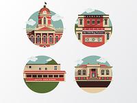 Goshen Indiana Icons