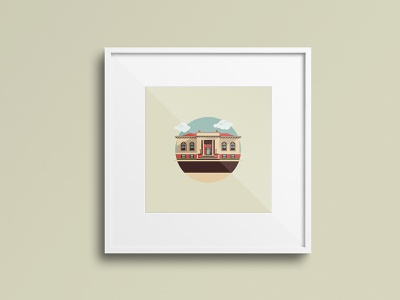 City Hall - Goshen illustrator graphic graphic design sketch vector indiana design branding illustration logo
