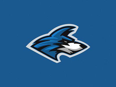 Wolves Mascot icon wolves mascot vector design brand branding illustration logo