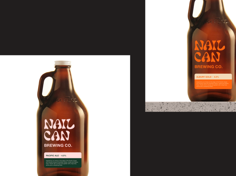 NAILCAN branding exploration
