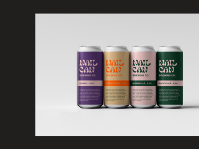 NAILCAN BREWING CO. Branding exploration