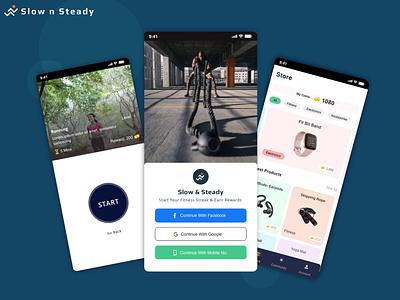 Fitness App UI UX Design fitness app fitness app design user interface design user experience design app design mobile app design ui ux design ui design ux design