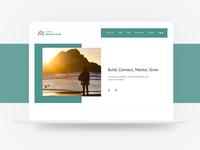 Clean Website Design Concept