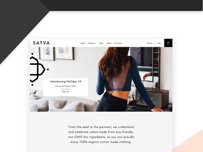 eCommerce Website Design | Yoga Wear