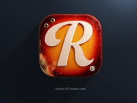 Reverb.com 3D IOS Icon